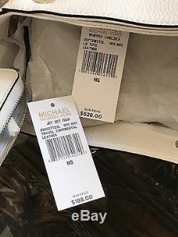 Nwt, Michael Kors Chelsea Pebbled Cuir Fouetté Grande Chaîne Porte-monnaie Sac À Main + 800 $