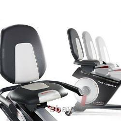 Proform Trainer Hybrid Pro 2 En 1 Cross Trainer Vélo Stationnaire Horizontal