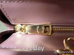 Sac 31916 Grace Carryall Satchel En Cuir De Veau Raffiné - Rose