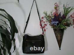 T.n.-o. Kate Spade Cuir Michaela Chester Street Hobo Crossbody Bag Noir