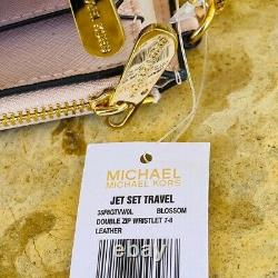T.n.-o. Michael Kors Signature Nicole Grand Sac À Main/portefeuille Vanille/ballet