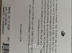 Tn-o Brahmane Jayden Coco Melbourne Véritable Fourre-tout En Cuir Ret 295,00 $