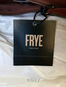 Tn-o Frye Bague En Cuir Sac Fourre-tout Sac À Main Cognac Brown Grand Db320 428 $