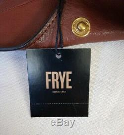 Tn-o Frye Cuir Madison Épaule Sac À Main Db0490 Cognac Pdsf 428 $