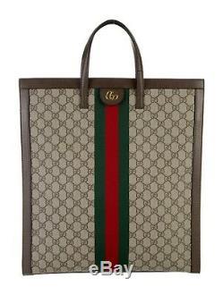 Tn-o Gucci Ophidia Grand Monogram Suprême Rouge Et Vert Sac Fourre