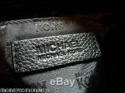 Tn-o Michael Kors Noir Convertible Fulton Épaule / Hobo / Xbody Sac + Wallet 506 $