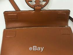 Tory Burch Miller Nouveau Aged Camello Ceinture Tan Logo Pochette En Cuir 228 M $ L