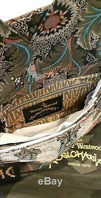 Vivienne Westwood Anglomania Grande Pochette Jungle Bnwt