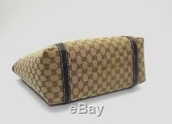 Web Sac Fourre-tout Grand Gucci Gg Canvas'new-dames