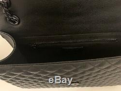 Ysl Yves Saint Laurent Enveloppe Grand Sac Noir